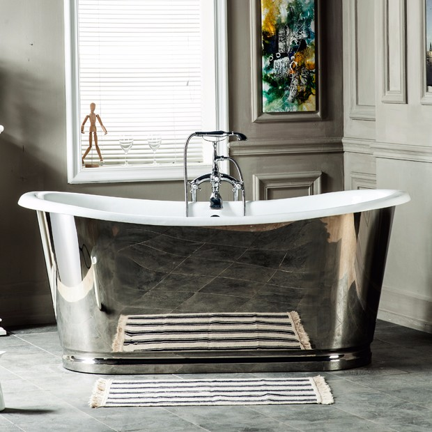 Personal Massager Used Antique Cast Iron Baby Bath Tub Freestanding ...