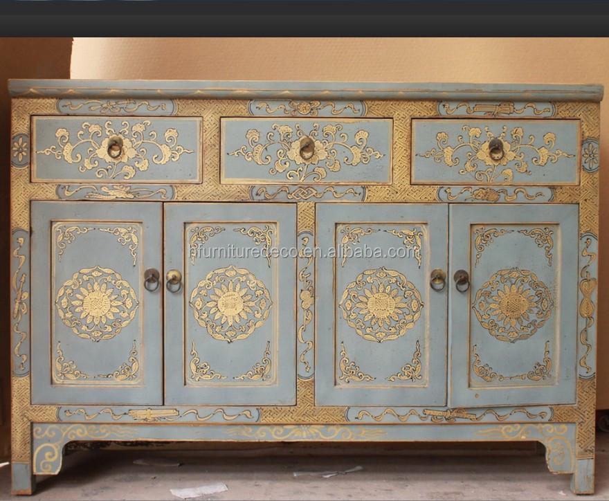 Reclaimed Hand-Painted Shabby Chic Dresser