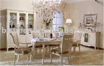 Paese In Stile Francese Villa Mobili Set Villa Sale da pranzo B49156 ...