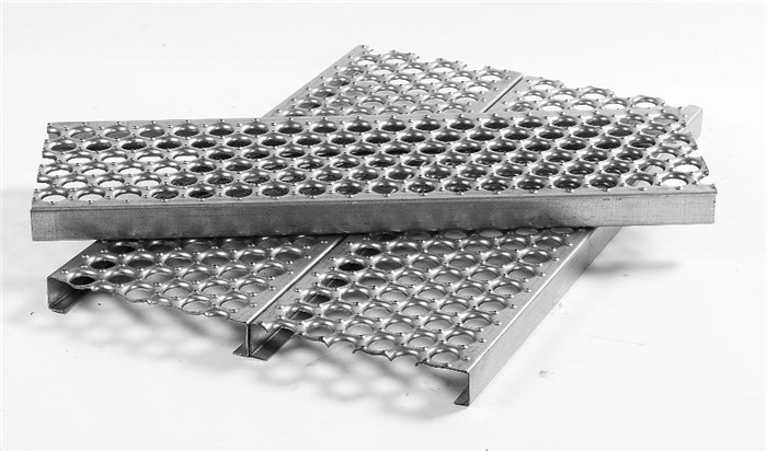 Perforated Metal Stair Tread Steel Decking Buy