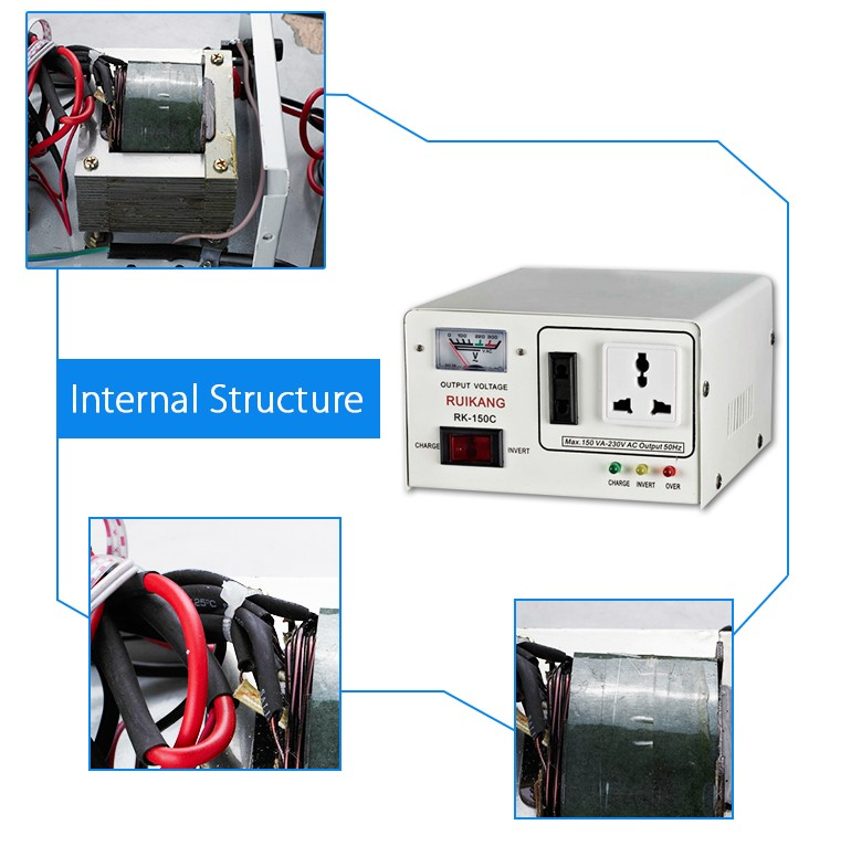 New small size good price inverter 6v dc to 220v ac