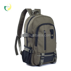 13Oz Canvas material outdoor travelling backpack