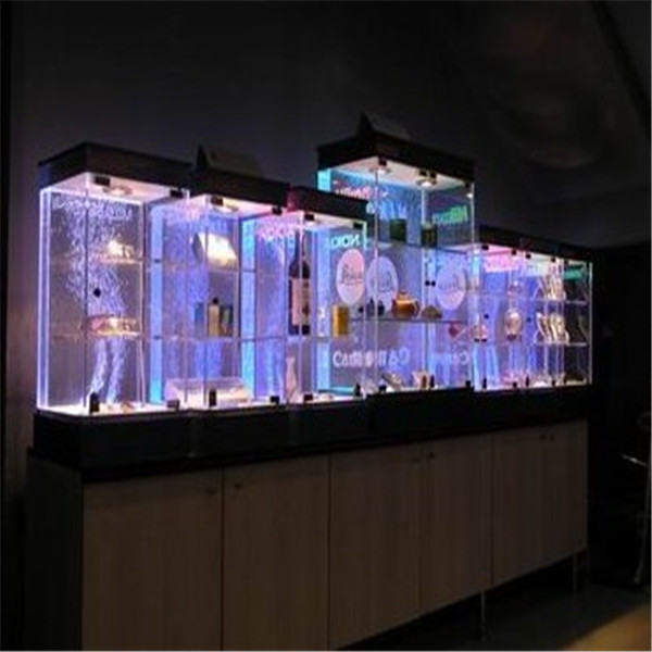 Shenzhen factory directly acrylic wine glass display cabinet