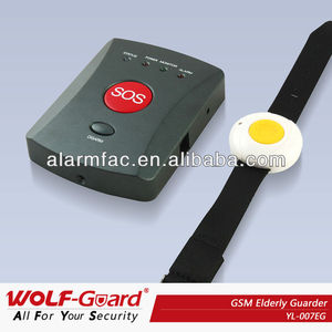 Paypal Supported !Quadband personal emergency panic sos alarm for elderly(YL007EG)
