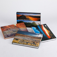 Landscape Hardcover Art book printing /large book printing