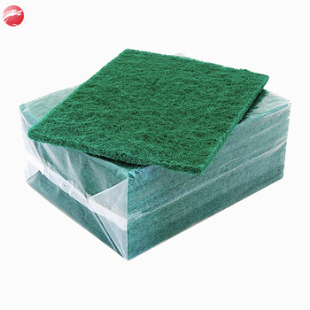industrial nylon scouring pad,heavy duty non-abrasive scouring pad fabric sheets