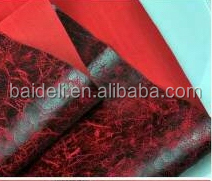 Faux Suede PU Leather for chair ottoman sofa furniture