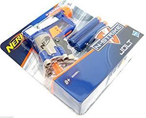 Nerf Gun Nerf N-Strike Jolt Gun Pocket Sized Soft Dart Gun Dart Blaster Micro