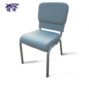 Cheap stackable steel church chair for wholesale