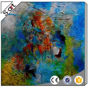 Romantic fast delivery abstract rock canvas printings art