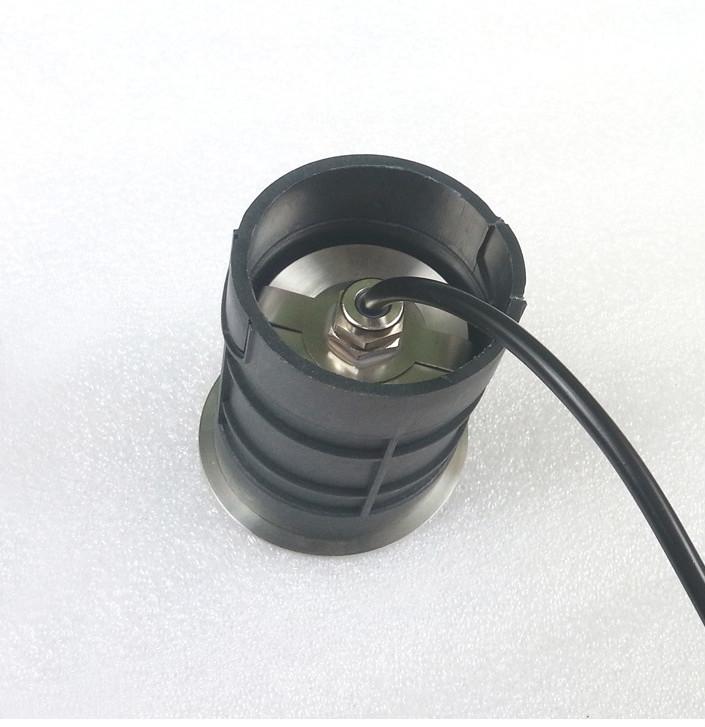 Ip68 Led Inground Light,3w Led Recessed Underwater Light