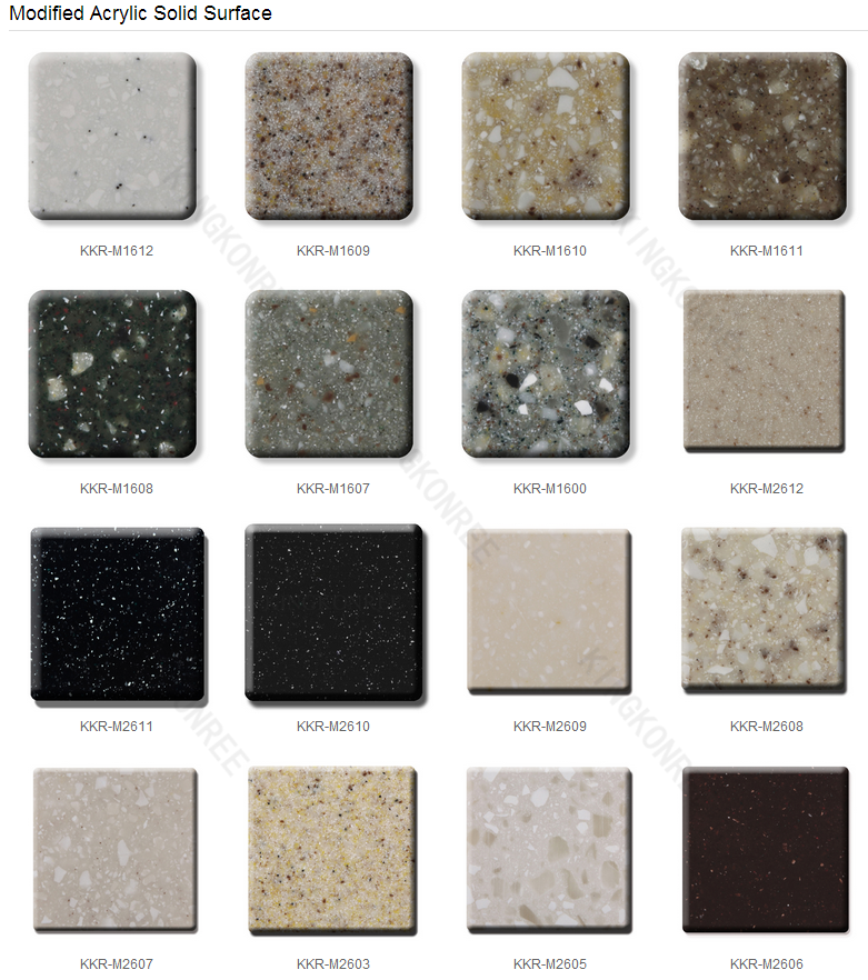 Polystone Solid Surface Artificial Marble Stone Price