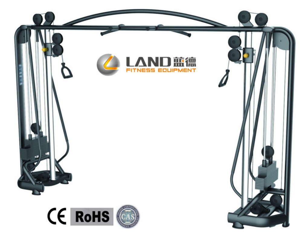 Save 20% Use gym use land Fitness Equipment Crossover Cable LD-7024