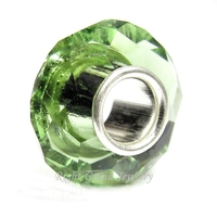 China Wholesale Cheap Prices Faceted DIY Big Hole European Glass Beads Wholesale Lampwork Beads