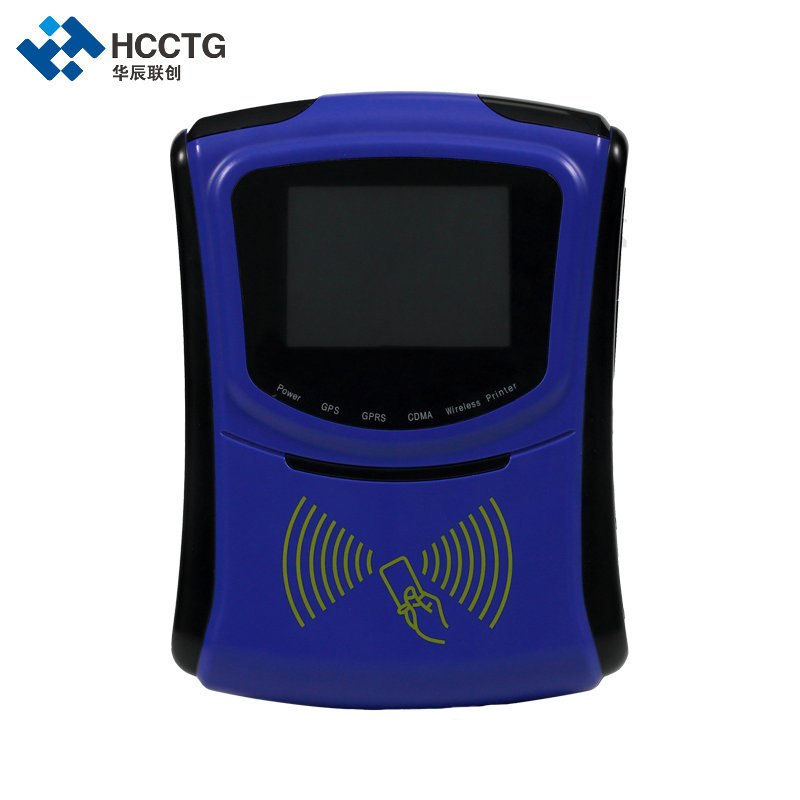 Contactless Smart Card RFID Reader RS232 LCD Display Linux Bus POS Terminal HCL1306