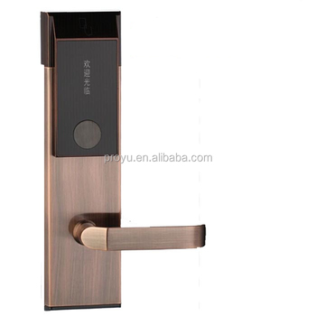 New IC ID Card Lock Hotel Accommodation Villa Apartment Building Smart Card  Electronic Door Locks