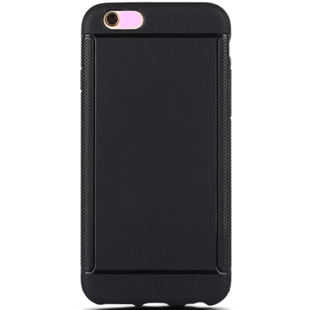 Black Soft TPU Inside Combined With Outside Bumper Phone Cover One Max I6 Case