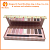 Paper EVA package 12 colors customized eyeshadow palette