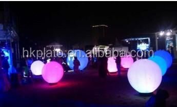 Ballonnen Met Licht : Opblaasbare stand licht ballonnen halogeen licht ballon led