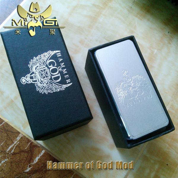 Best Vapor Mod Hammer Of God Box Mod 1:1 Clone From China Supplier ...