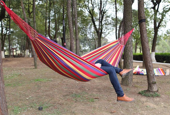 Free sample Aofeite double portable folding hammock