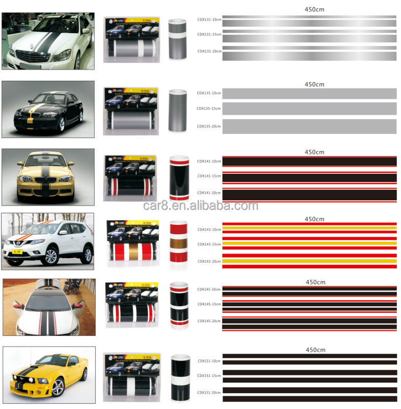 auto roof line sticker car decal sports racing stripes buy racing stripes decal stickers roof. Black Bedroom Furniture Sets. Home Design Ideas