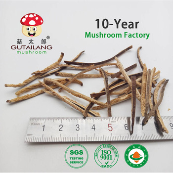 dried shredded shiitake mushroom width 2mm length 3-8cm
