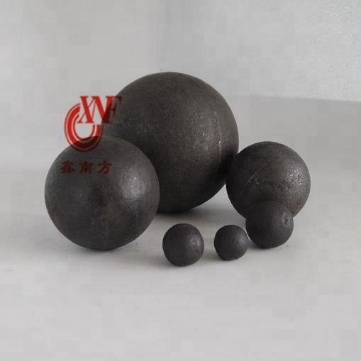 Miners use chrome casting grinding balls for milling
