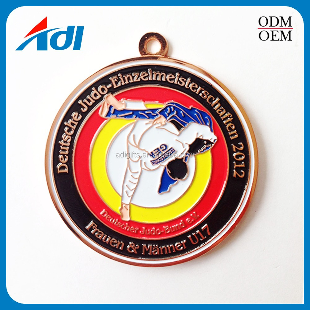 Custom Zinc Alloy Type And Souvenir Use Sport Taekwondo Souvenir ...