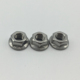 m22 m30 standard size hex hexagon shoulder nuts with flange