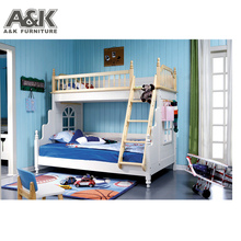 kid wood bunk bed double decker bed for kids cheap wood bunk beds