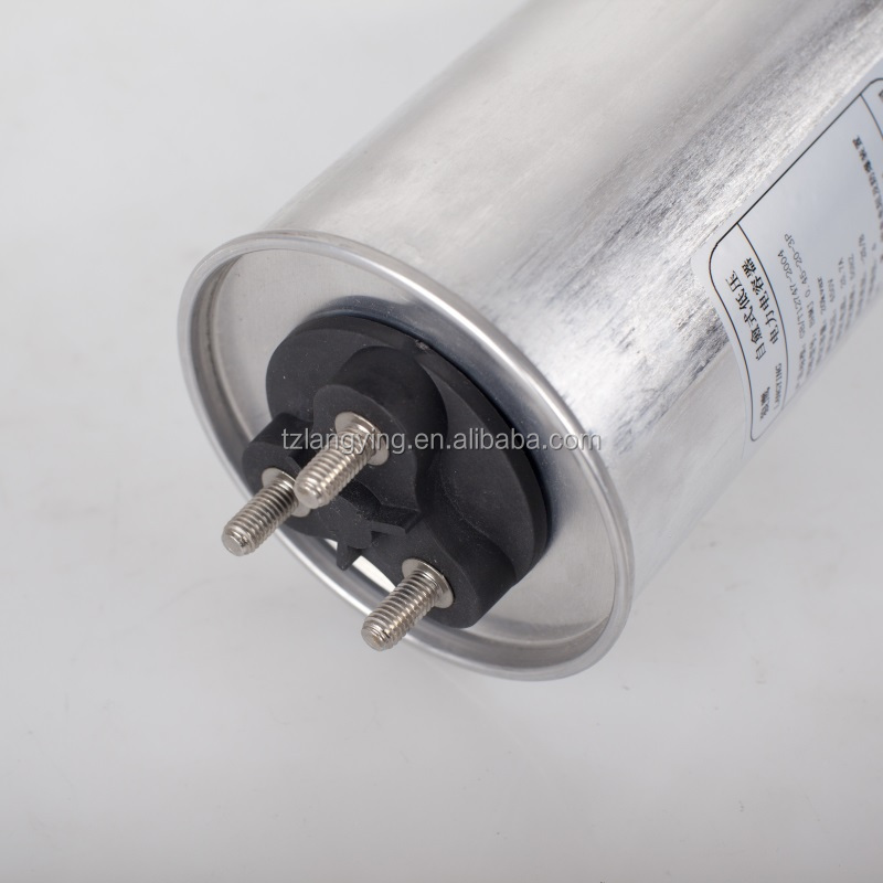 Dry Type Low Voltage Power Factor Correction Capacitor Cylindrical 525v 3phase 10kvar to 30kvar