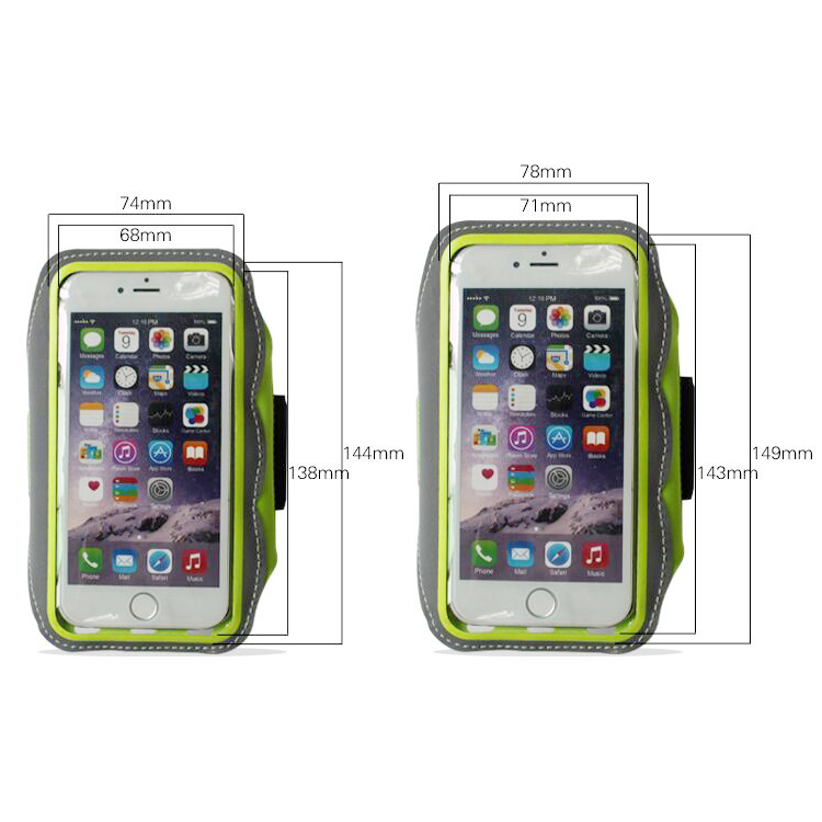 Water Resistant Sports Armband for iphone 6S Plus