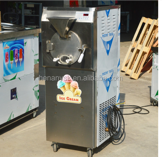 220v 50hz  ICM-38S Commercial Vertical Hard Carpigiani ice cream maker machine 4HP compressor