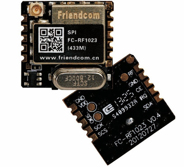 Wireless Transceiver Module ISM Band 433MHz RF module