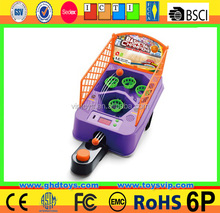 Basketball scoring machine basketball machine mini basketball shooting game machine with music scores to sale for kids