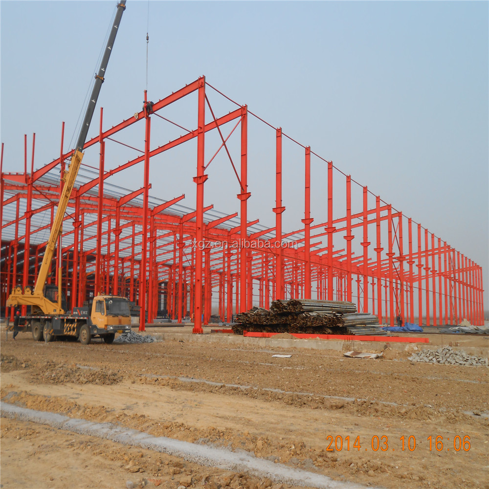 customized light portal frame workshop manufacture customized steel warehouse