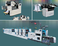 Business Form Offset Rotary Press Machine