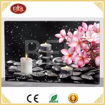 BES Illuminate Flower Spa Canvas Painting Board