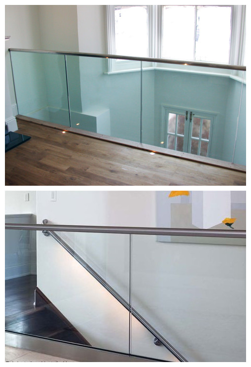U Channel Glass Balustrade Aluminium Channel For Outdoor And Indoor
