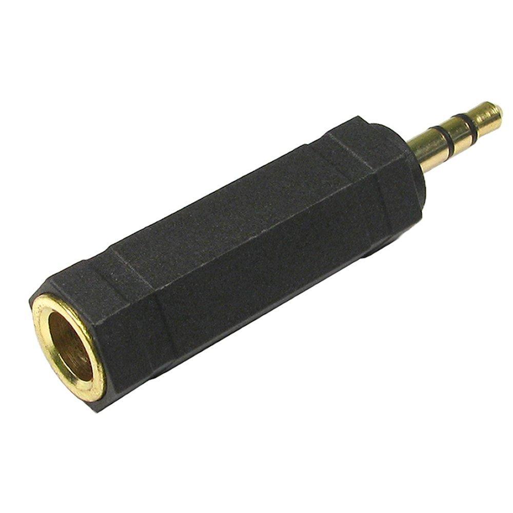 008|ADAPTADOR AUDIO CONVERTIDOR MINI JACK 6,5 mm A 3,5 mm