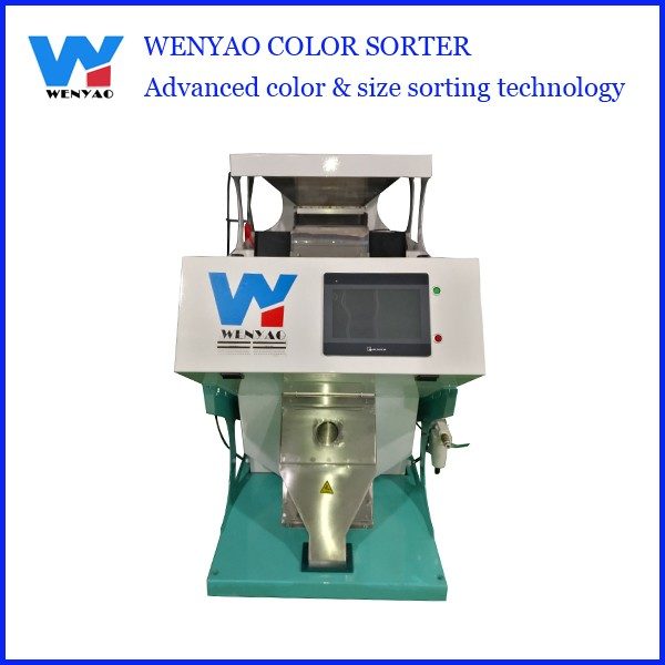 High Accuracy 1 Chute Coffee Beans Ccd Mini Color Sorter
