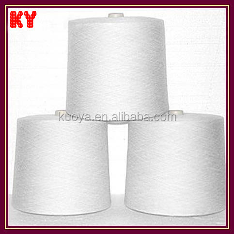 blended 65/35 polyester /cotton ring spun yarn weaving and knitting