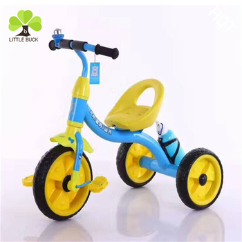 2017 New Modle good quality baby tricycle / new child three wheels bike for children / simple baby trike from China xingtai