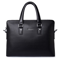 latest top grade leather laptop bag leather briefcase