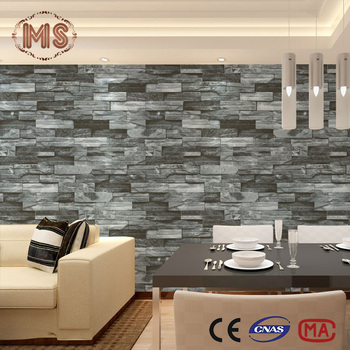 Stone model decorative mural 3d wallpaper 3d wood wall panels for home deco buy 3d decoration - Mh deco ...