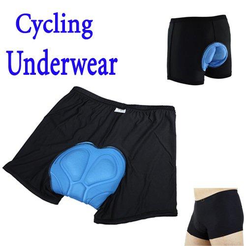 PyLios(TM) New arrival Men Bicycle Cycling Underwear Gel 3D Padded Bike short Pants Black Hot size M L XL XXL XXXL