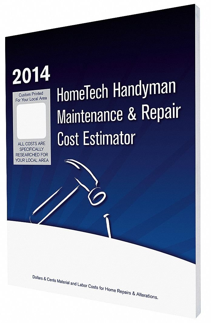 Cost Estimating Book, Small Job Maintenance and Repair, English, NM, Albuquerque and Vicinity