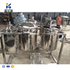mini home automatic continuous cold palm oil refining machine with filter cylinder