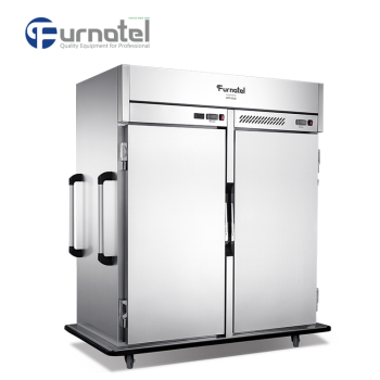 Furnotel Development Double Temperature Heated and Cold Holding Cabinet Big Banquet Food Trolley